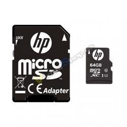 MEM MICRO SDXC 64GB HP CL10 U1 NEGRO ADAPTADOR SD - Imagen 1