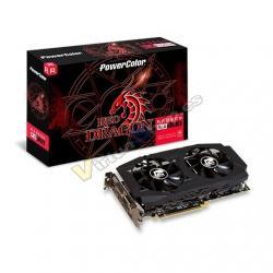 TARJETA GRÁFICA POWERCOLOR RED DRAGON RX580 OC 8GB GDDR5 - Imagen 1