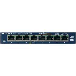 HUB SWITCH 8 PTOS METALI 10/100/1000 NETGEAR GS108 - Imagen 1