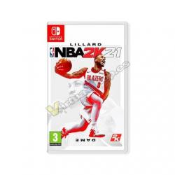 JUEGO NINTENDO SWITCH NBA 2K21 - Imagen 1