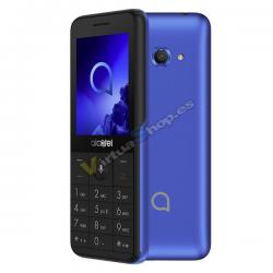"SMARTPHONE ALCATEL 30.88 2.4"" VGA DUAL SIM 4GB 512MB METALIC BLUE - Imagen 1"