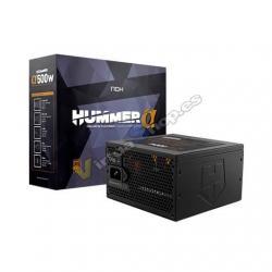 FUENTE DE ALIMENTACION ATX 500W NOX HUMMER ALPHA X500W - Imagen 1