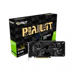 TARJETA GRÁFICA PALIT GTX 1660 DUAL 6GB GDDR5 - Imagen 1