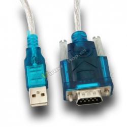 ADAPTADOR USB A SERIE RS232 + CABLE L-LINK - Imagen 1