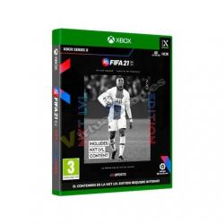 JUEGO MICROSOFT XBOX SX FIFA 21 NEXT LEVEL Incluye: Sobres/ - Imagen 1