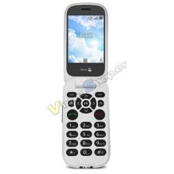 "TELEFONO MOVIL SENIOR DORO 7080 2,8"" 512MB 4GB BLANCO NEGRO 5MPX - Imagen 1"