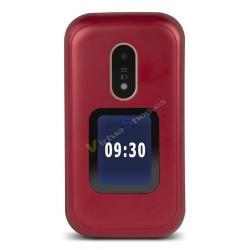 "TELEFONO MOVIL SENIOR DORO 6060 2,8"" ROJO T3MPX - Imagen 1"