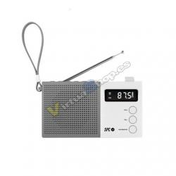 RADIO DESPERTADOR SPC JETTY MAX BLANCO PANTALLA LED/RELOJ/A - Imagen 1
