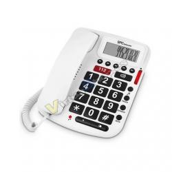 TELEFONO FIJO SPC COMFORT VOLUME BLANCO - Imagen 1