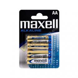 PILA ALCALINA MAXELL LR06 AA (PACK 4) - Imagen 1