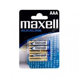 PILA ALCALINA MAXELL LR03 AAA (PACK 4) - Imagen 1