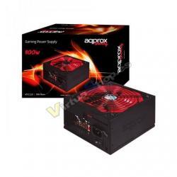 FUENTE DE ALIMENTACION ATX 800W APPROX APP800PSV2 NEGRO/ROJ - Imagen 1