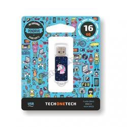PENDRIVE 16GB TECH ONE TECH UNICORNIO DREAM USB 2.0 TEC4012 - Imagen 1