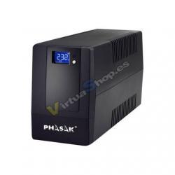 SAI/UPS 650VA PHASAK INTERACTIVO AVR 2XSCHUKO PH 9464 - Imagen 1