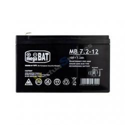 BATERIA PHASAK 7´2A/12V ACIDO/PLOMO BAT 207 - Imagen 1