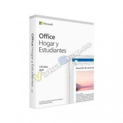 SOFTWARE MICROSOFT OFFICE HOME STUDENTS 2019 - Imagen 1