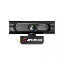 WEBCAM FHD AVERMEDIA PW315 NEGRO 1080P/60 FPS/USB/FIXED FOC - Imagen 1