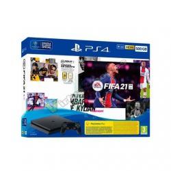 CONSOLA SONY PS4 500GB + FIFA 21 - Imagen 1