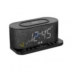 RADIO DESPERTADOR SPC GISLI NEGRO PANTALLA LED/2XALARMAS/FM - Imagen 1