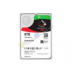 HD 3.5 8TB SATA 3 SEAGATE 256MB IRONWOLF PRO 3.5 / CACHE - Imagen 1