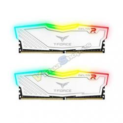 MODULO DDR4 16GB 2X8GB 3200MHz TEAMGROUP DELTA BLANCO/T-FOR - Imagen 1