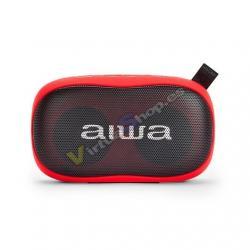 ALTAVOZ AIWA BS-110RD BLUETOOTH ROJO 2X5W/MANOS LIBRES/BLUE - Imagen 1