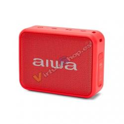 ALTAVOZ AIWA BS-200RD BLUETOOTH ROJO 6W/TWS/M. LIBRES/BLUET - Imagen 1