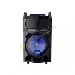 KARAOKE PORTATIL AIWA KBTUS-700 NEGRO 80W RMS/BLUETOOTH/USB - Imagen 1
