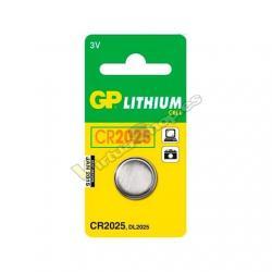 PILA BOTON GP CR2025 3V BLISTER / LITIO G073 - Imagen 1