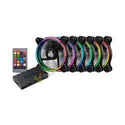 VENTILADOR 120X120 ENERMAX T.B. RGB PACK 6 UD - Imagen 1