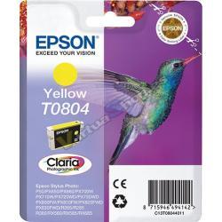 TINTA EPSON T0804 AMARILLO - Imagen 1