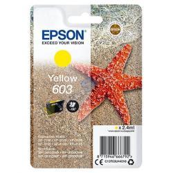 TINTA EPSON 603 AMARILLO - Imagen 1