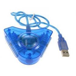 PS2 ADAPTADOR USB DOBLE A PC - PS2 TO PC -