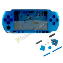 Carcasa Completa PSP 3000 Azul