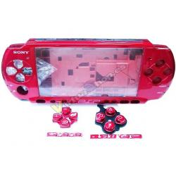 Carcasa Completa PSP 3000 Roja