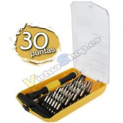 Kit Destornillador 30 en 1