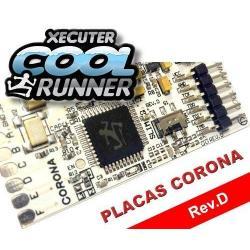 XBOX 360 XECUTER COOLRUNNER Rev.D (Placas Corona) CON OSCILADOR