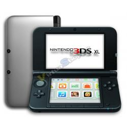 Nintendo 3DS XL Plata