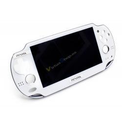 Pant. LCD + Carcasa Frontal PS Vita Wifi/3G Blanca Refurbished
