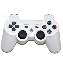 PS3 DUALSHOCK 3 BLANCO BLUETOOTH ALTA CALIDAD COMPATIBLE