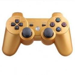 PS3 DUALSHOCK 3 DORADO BRONCE METAL BLUETOOTH ALTA CALIDAD COMPATIBLE