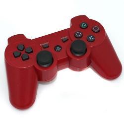 PS3 DUALSHOCK 3 ROJO BLUETOOTH ALTA CALIDAD COMPATIBLE