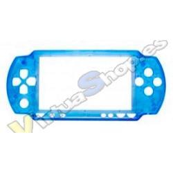 CARCASA FRONTAL PSP SLIM CELESTE