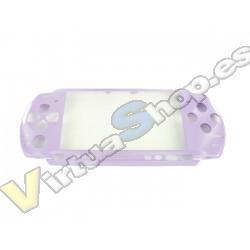 CARCASA FRONTAL PSP SLIM LILA