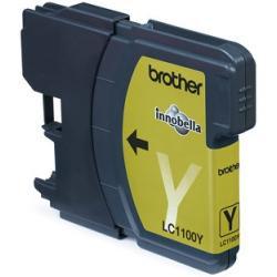 Brother LC-1100Y Yellow Ink Cartridge - Imagen 1
