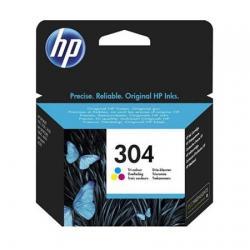 HP 304 Tri-Colour Original Standard Capacity Ink Cartridge - Imagen 1