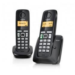 TELEF. INALAMBRICO DECT DIGITAL GIGASET AS405 DUO - Imagen 1