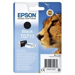 Epson T0711 7.4ml Negro cartucho de tinta - Imagen 1