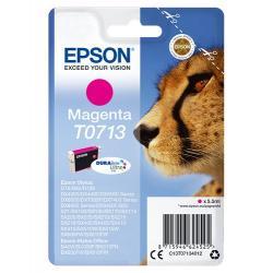 Epson T0713 5.5ml Magenta cartucho de tinta - Imagen 1