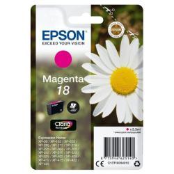 Epson C13T18034012 3.3ml 180páginas Magenta cartucho de tinta - Imagen 1